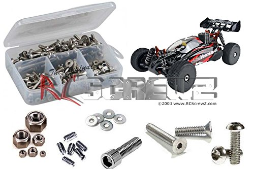 RC Screwz Stainless Steel Screw Kit for OFNA Hyper SS Electric Buggy 1/8 #ofn068