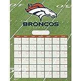 Turner Perfect Timing Denver Broncos Jumbo Dry Erase Sports Calendar (8921006)
