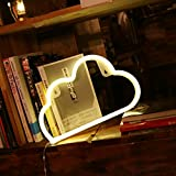 Decorative Neon Light Neon Signs Wall Decor led Night Light for Children's Birthday Room Decor Party Decoration (Warm Cloud)