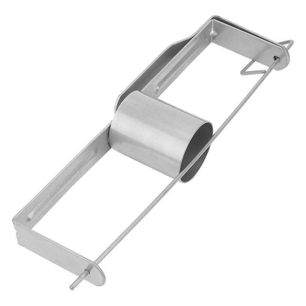 Pr/áctico carrete de soporte de cinta para paneles de yeso Duradero Pasador de retenci/ón de carga r/ápida Plancha de yeso de gran capacidad