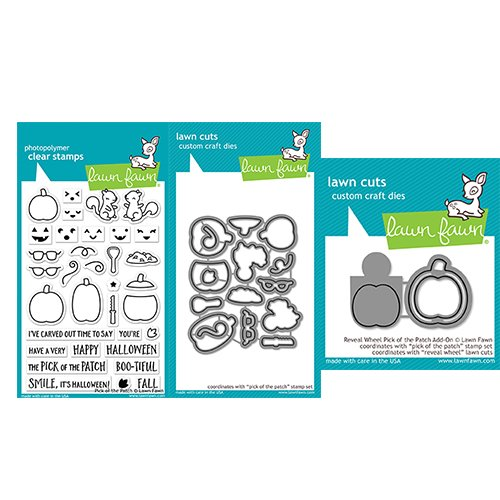 Lawn Fawn Pick of The Patch Clear Stamps,