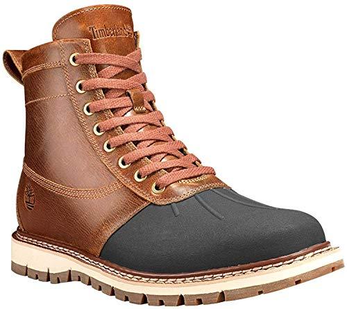 Timberland Men's Britton Hill Moc-Toe Waterproof Boot (8 D(M) US, Brown)