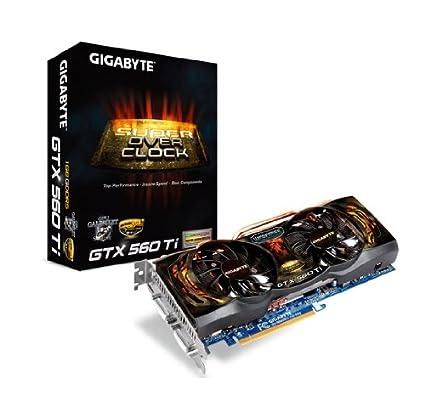 Gigabyte GV n560s0 1 Gi 950 Tarjeta Gráfica Nvidia GTX 560 ...