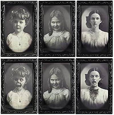 halloween moving picture frames