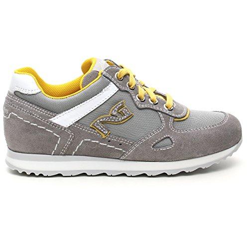 Nero Giardini Junior - Zapatillas para niño Gris gris Grigio (Cam. Colorado Fumo)