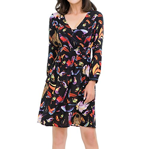 bfd8488a1c86 We Analyzed 2,172 Reviews To Find THE BEST Bird Print Dress