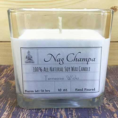 Nag Champa 10oz 100% Natural Soy Candle
