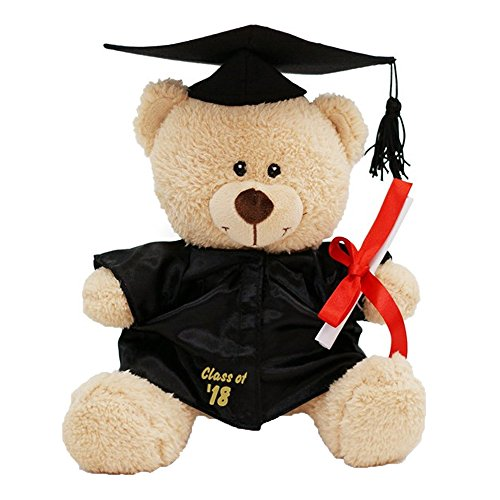 Class Of 2018 Plush Graduation Teddy Bear with