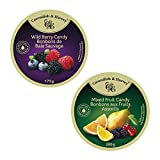 Cavendish & Harvey 2 Pack Variety Candy: Wild Berry - 175g (1 Pack) and Mixed Fruit Candy - 200g (1 Pack)