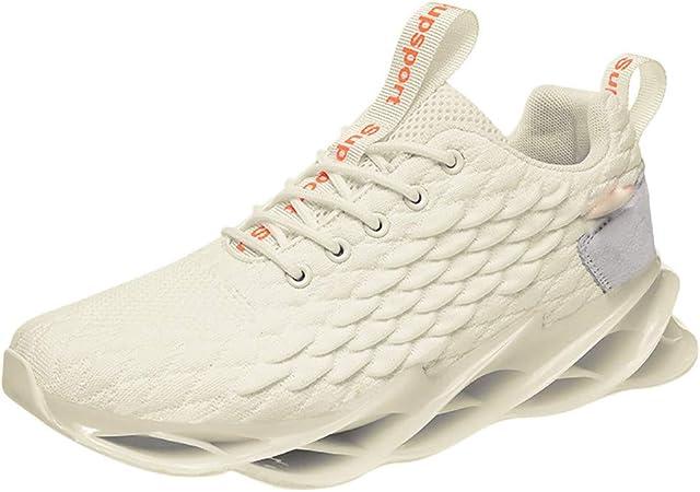 RYTEJFES Zapatilla de Deporte Para Hombre De Moda Zapatillas Deportivas Antideslizantes Transpirables para Correr con Fondo Suave Cojines De Aire Calzado Ligeras para Hombres: Amazon.es: Hogar