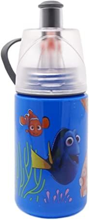 Mickey /& Minnie Set Of 2 12oz O2Cool Mist And Sip Bottles