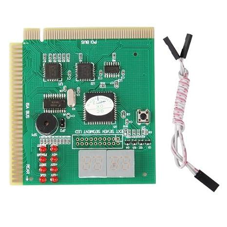 Tarjeta Post 4 Diagnóstico PC Tester Analyzer PCI ISA ...