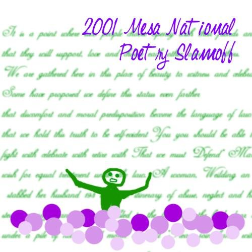 2001 Mesa National Poetry Slamoff