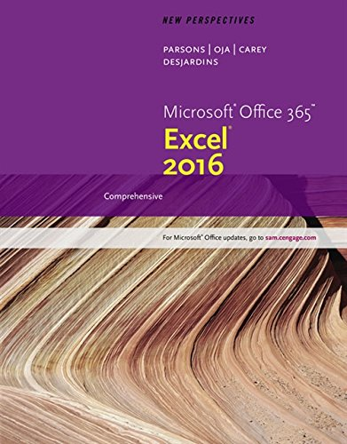New Perspectives Microsoft Office 365 & Excel 2016: Comprehensive by Cengage Learning