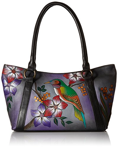anuschka-medium-tote-bobg-bird-on-branch-grey-one-size