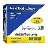 Advanced Naturals Total Body Detox, 3-Part Kit, 14 Day Program