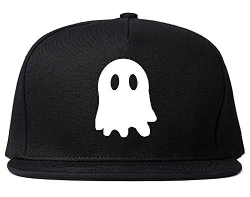 Ghost Chest Mens Snapback Hat Cap Black
