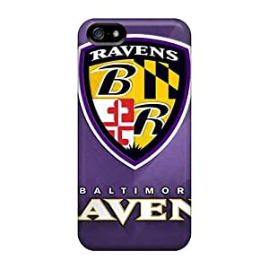 For Iphone Case, High Quality Baltimore Ravens For Iphone 5/5s Cover Cases