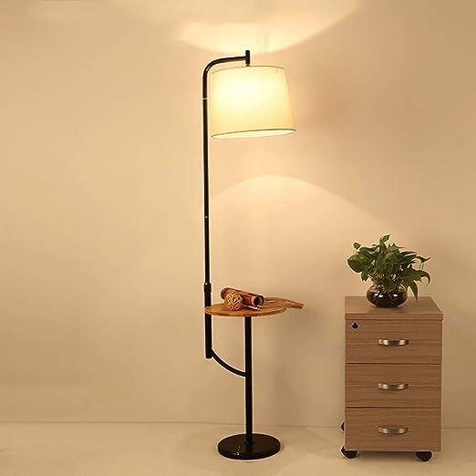 Lámpara de pie Estilo Americano salón Dormitorio sofá estantería ...