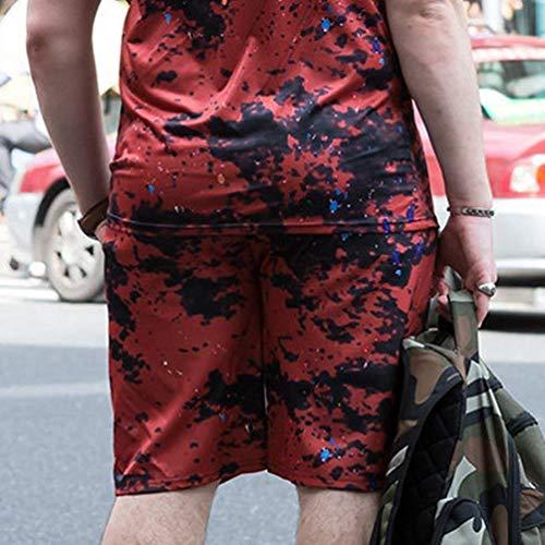 Bild4 Pantalons De Plage Fête Hommes Als La D'été Vêtements Lannister Camo Courts Imprimés Pour Fashion Casual À qfawaS