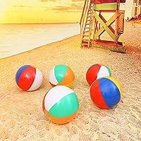 STOBOK 12 Piezas de Pelotas de Playa Hinchable inflables para ...