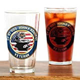 CafePress - CV-67 USS John F. Kennedy - Pint Glass, 16 oz. Drinking Glass