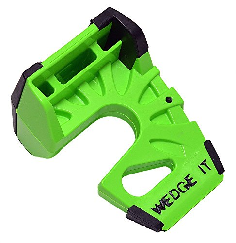 (Wedge-It WEDGE-IT-1 The Ultimate Door Stop, Lime Green)