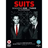 Suits (Seasons 1-3) - 12-DVD Box Set ( Suits - Seasons One, Two & Three (44 Episodes) )