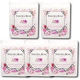 ローズサプリ 濃縮生 桜ローズ 5袋セット150日分 濃厚成分がとろ~り 体臭、口臭ケアに人気