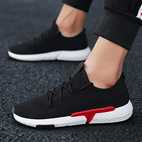 Chaussures Course Sport Chaussures Simple Hommes Respirant Tendance De Loisirs Chaussures Chaussures Tissage NANXIEHO Volant Net Mode 1xEgq4nETw