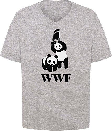 BSW Men's WWF WWE Panda Wrestling Chair V-Neck 4XL Sport ...
