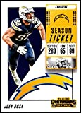 2018 Contenders NFL Season Ticket (Base) #50 Joey Bosa Los Angeles Chargers Official Football Trading Card made by Panini