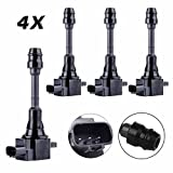 protank 3 mini coils - Carrep Ignition Spark Coil Coils Pack of 4 for 02-13 NISSAN ALTIMA X-TRAIL