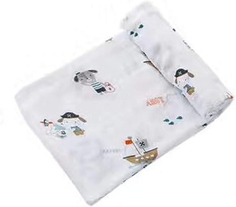 Manta de Muselina para bebé de Calidad Mejor Que Aden Anais Manta de algodón y bambú Multiuso - - Talla única: Amazon.es: Ropa y accesorios