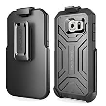 Original DuraSHIELD® Grip Case & Belt Clip for Samsung Galaxy S6 - Black (By Encased)