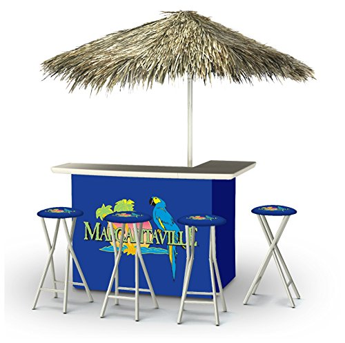 Best of Times Portable Deluxe Bar; Margaritaville - Palapa