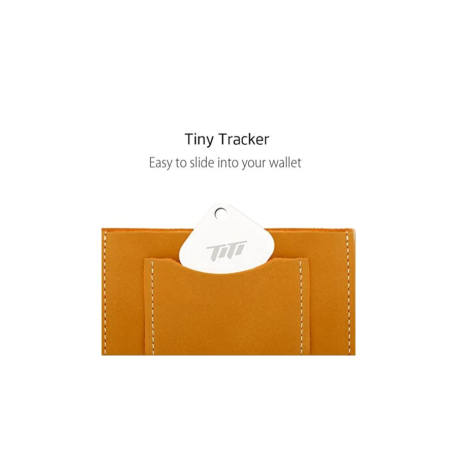 TITI Bluetooth Key Finder, Phone Finder, Wallet Locator, Key Tracker for Apple iOS and Android Phone Tablet