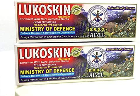 Lukoskin - An Ayurvedic Proprietary Ointment to Restores Skin Health and Tinge - Best result in Vitiligo or Leucoderma (Skin White Spots) disorder - 40g Pack