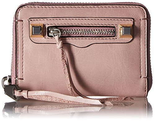 Rebecca Minkoff Women's Mini Regan Zip Wallet, Lilac Rose, One (Best Rebecca Minkoff Womens Wallets)