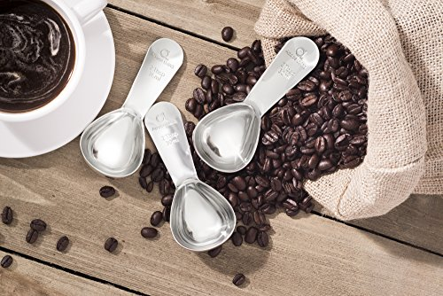 Apace Living Coffee Scoop (Set of 2) - 2 Tablespoon (Tbsp) - The Best Stainless Steel Measuring Spoons for Coffee, Tea, and More by Apace Living (Image #7)