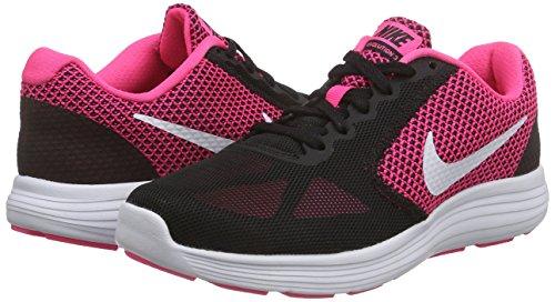 Wmns White Running hyper Pink Rosa 3 Para black Zapatillas De Revolution Nike Mujer PwaZqfdP