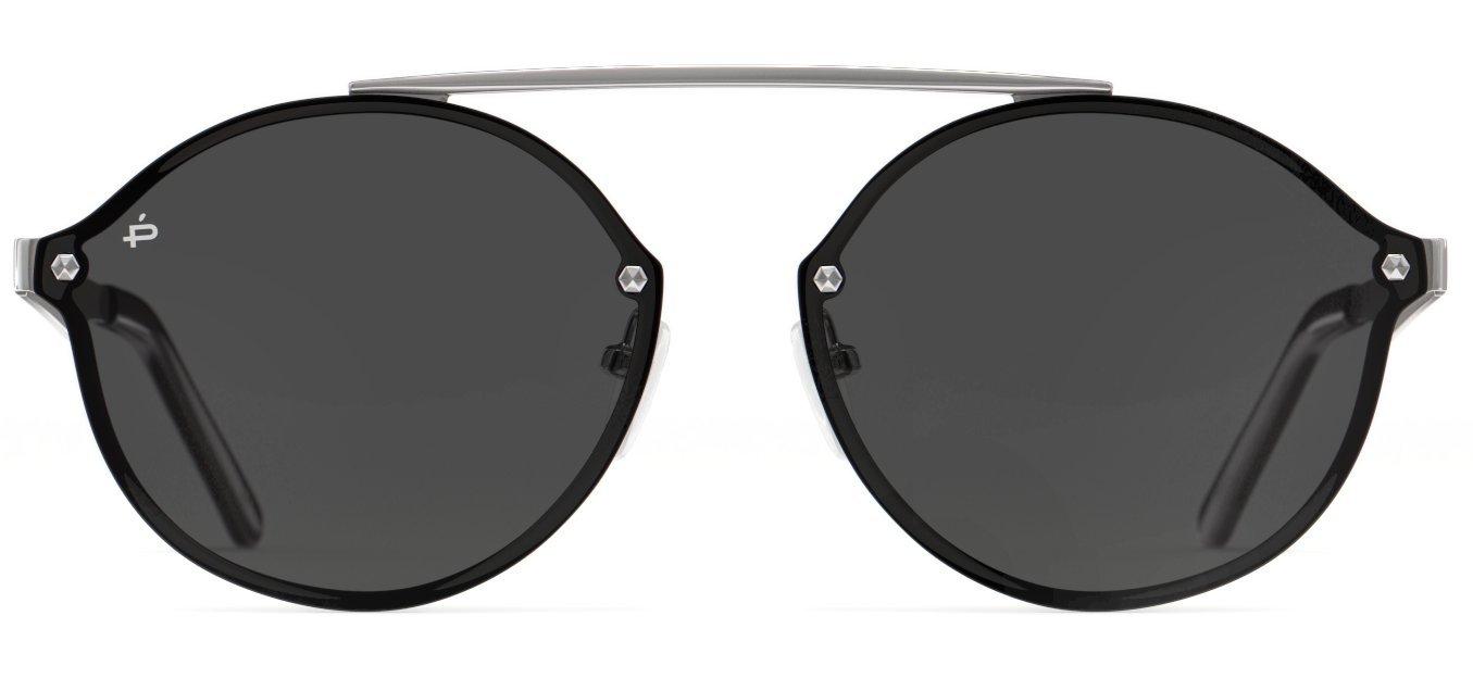 PRIVÉ REVAUX Places We Love Collection''The Orient'' Polarized Designer Round Sunglasses RandM Colab