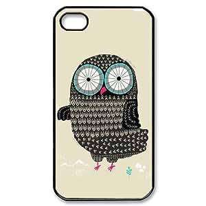 Custombox Owl Iphone 4/4s Case Plastic Hard Phone Case for Iphone 4/4s-iPhone 4-DF02477