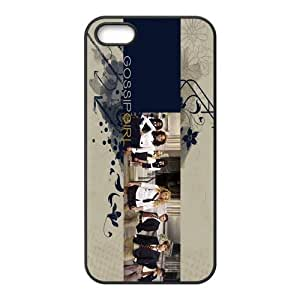 Custom Personalized Gossip Girl Back Cover Case TPU for iphone 5,5S JN-1002