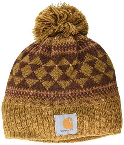 Carhartt-Womens-Knit-pom-Fairisle-Hat