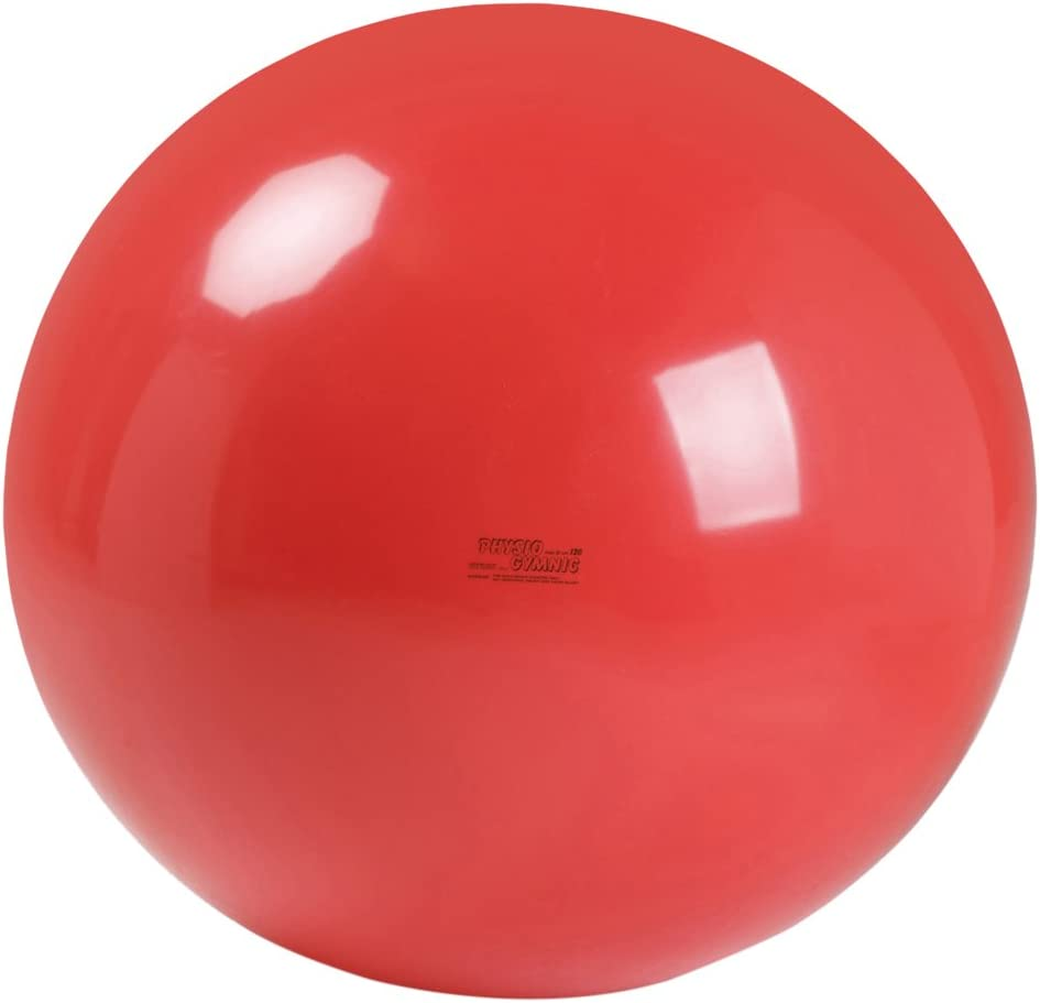 Gymnic Physio Exercise Ball, Red (85 cm)