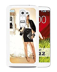 Beautiful Girl Cover Case For LG G2 With Cara Delevingne Girl Mobile Wallpaper(128) Phone Case