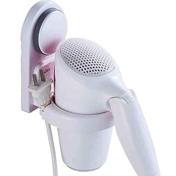 FuweiEncore Soporte para secador de Pelo Material plástico de Pared Ahorre Espacio Práctico y práctico (Color : -, tamaño : -): Amazon.es: Hogar