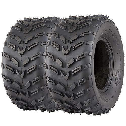 Set of 2 ATV UTV Tires 22x10-10 VANACC 22x10x10 22 10-10 ATV Tire Rear 4PR