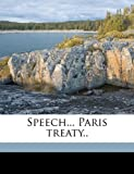 Speech Paris Treaty, A. J. Hopkins, 1149839481